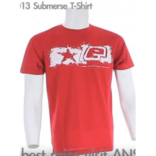 Eclipse Mens Submerse T-shirt (L) Rød