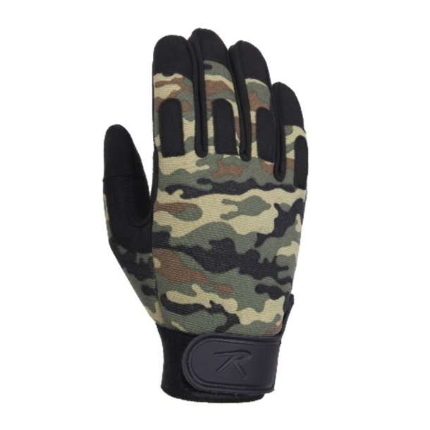Paintball Camo Gloves handsker (assorteret)